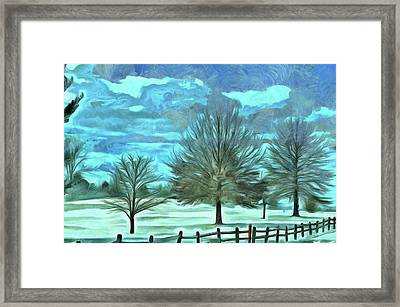 Framed Print featuring the mixed media Mandisa by Trish Tritz