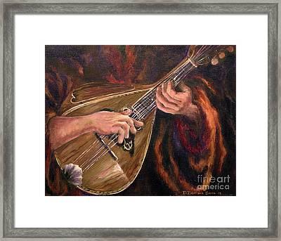 Mandolin Framed Print by Deborah Smith