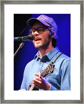Mandolin Orange 02 Framed Print by Julie Turner