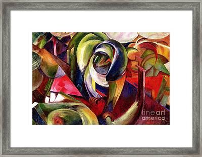 Mandrill Framed Print