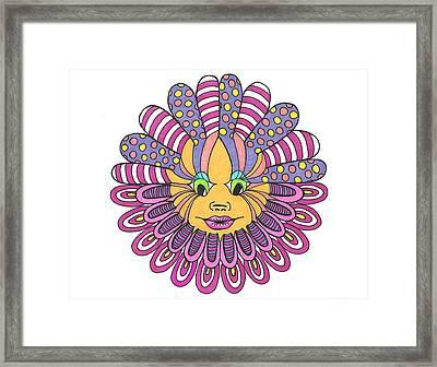 Mandy Flower Framed Print