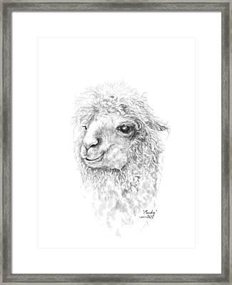 Mandy Framed Print