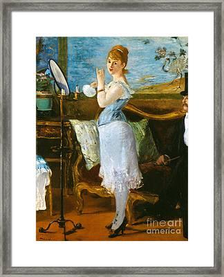 Manet: Nana, 1877 Framed Print