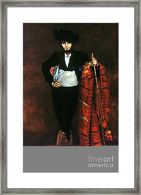 Manet: Young Man, 1863 Framed Print by Granger