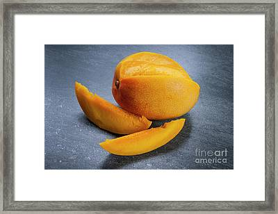 Mango And Slices Framed Print