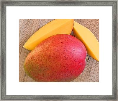 Mango Framed Print