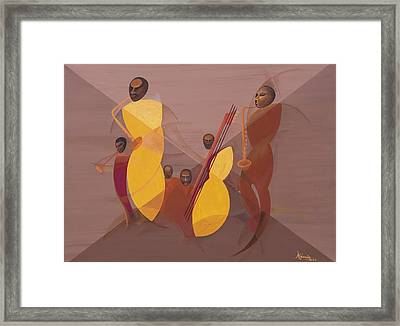 Mango Jazz Framed Print by Kaaria Mucherera