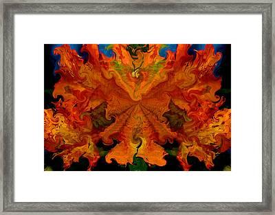 Mango Mesh Framed Print by Karen M Scovill