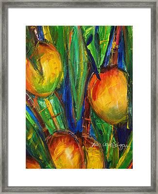 Mango Tree Framed Print by Julie Kerns Schaper - Printscapes