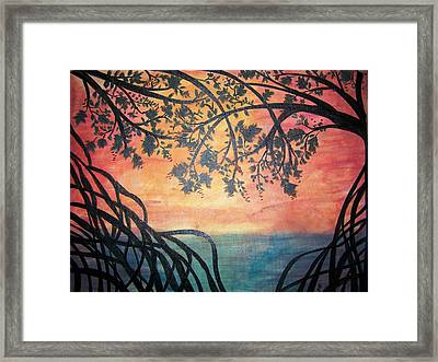 Mangroves Framed Print by Patti Spires Hamilton