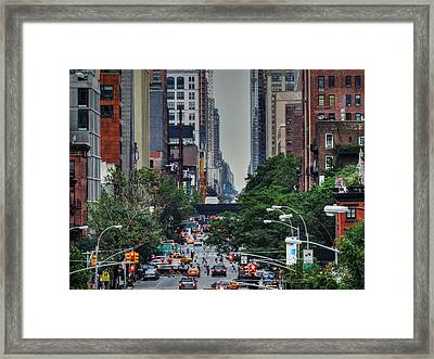 Manhattan - Chelsea 001 Framed Print