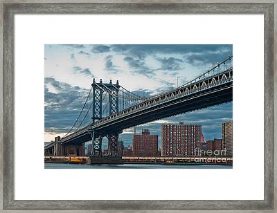 Manhattan Classic Framed Print