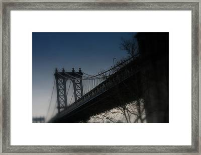 Manhattan Dreamin' Framed Print by Susan Crittenden