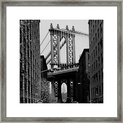 Manhattan Empire Framed Print