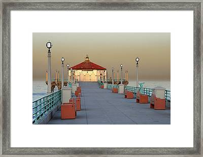 Framed Print featuring the photograph Manhattan Morning II by Kevin Bergen
