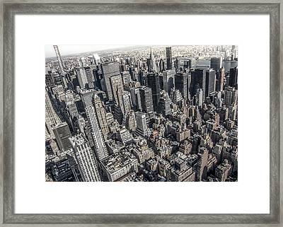 Manhattan Framed Print by Nicklas Gustafsson
