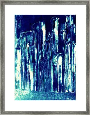 Manhattan Nocturne Framed Print
