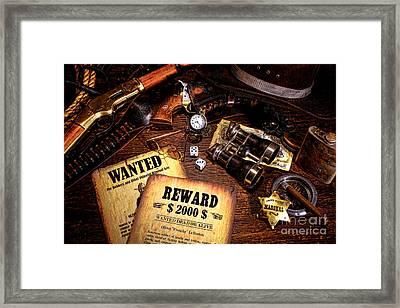 Manhunter Framed Print by Olivier Le Queinec
