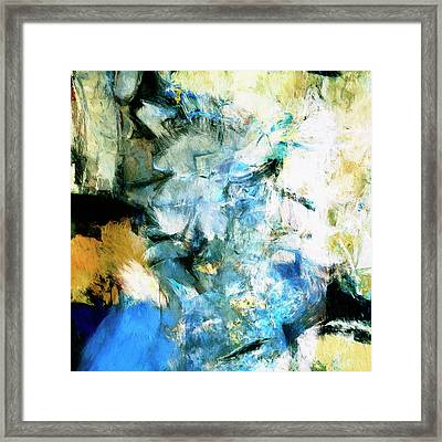 Framed Print featuring the painting Manifestation by Dominic Piperata
