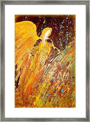 Manifesting Angel Framed Print