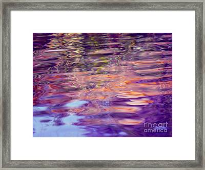 Manifesting Pleasure Framed Print