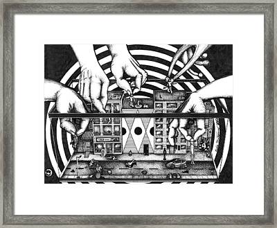 Manipulation  Framed Print