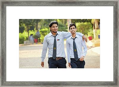 Manish Mandal Framed Print by Manish Mandal