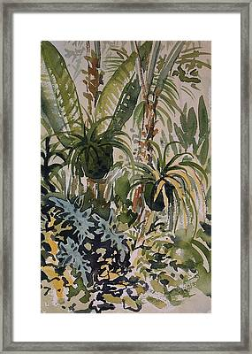 Manito Greenhouse Framed Print