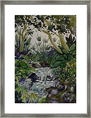 Manito Stream Framed Print