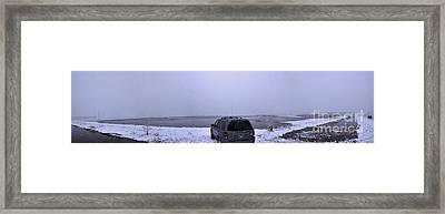 Manitoba Flooding Framed Print