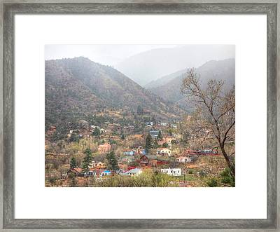 Manitou To The South Iv Framed Print by Lanita Williams