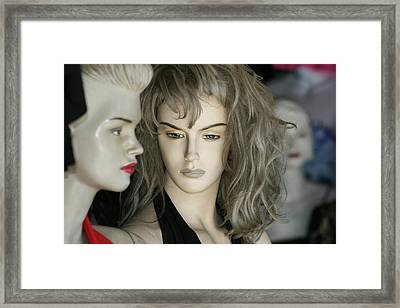 Mannaquin Dreams Framed Print