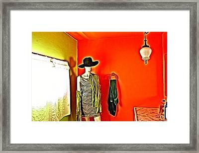 Mannequin 1 Framed Print