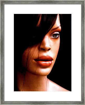 Mocha Velvet  Framed Print by Andre Brown