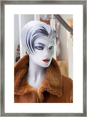 Mannequin 74a Framed Print