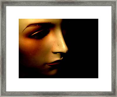 Mannequin Framed Print by Angela Conway