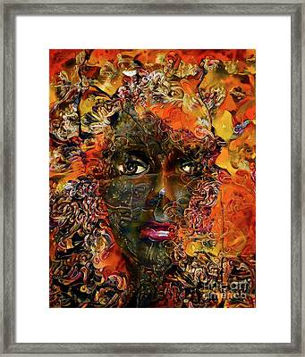 Mannequin Portrait 1 Framed Print