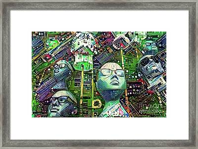 Mannequins 1 Framed Print by Amy Cicconi