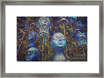 Mannequins 4 Framed Print