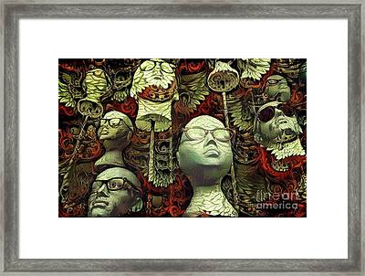 Mannequins 6 Framed Print by Amy Cicconi