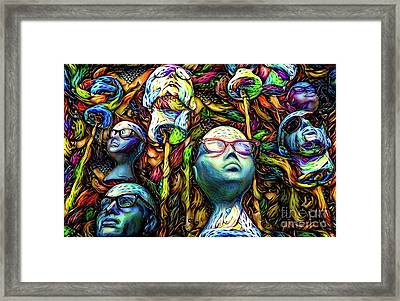 Mannequins 7 Framed Print by Amy Cicconi