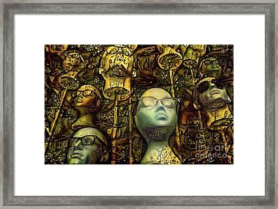 Mannequins 8 Framed Print