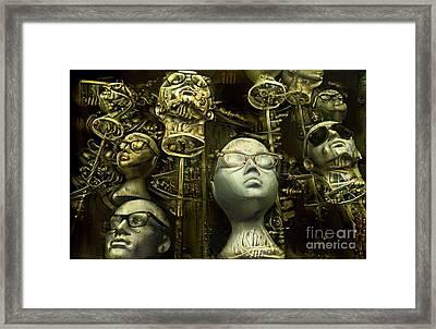 Mannequins 9 Framed Print