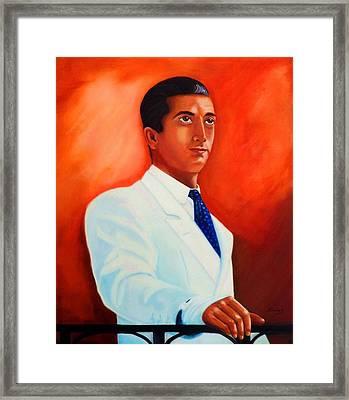 Manolete El Hombre Framed Print by Manuel Sanchez