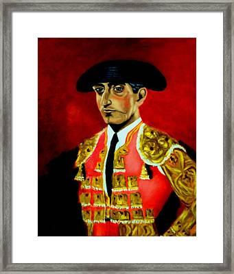 Manolete  Framed Print by Manuel Sanchez