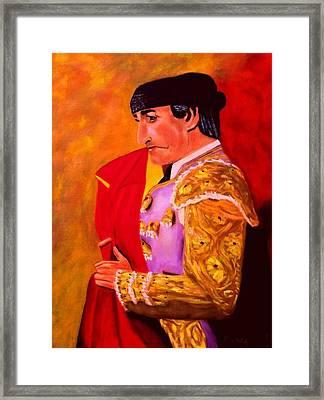 Manolete1 Framed Print by Manuel Sanchez