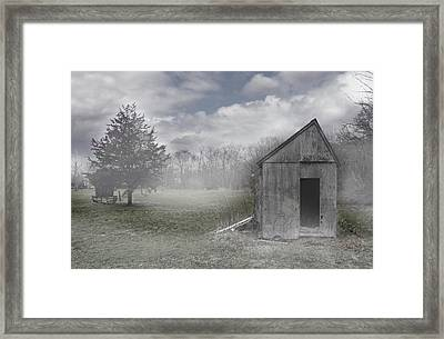 Manor Road Farm Framed Print