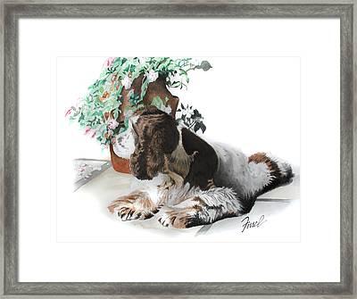 Mans Best Friend Framed Print by Ferrel Cordle
