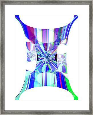 Man's Flag Framed Print by Thibault Toussaint