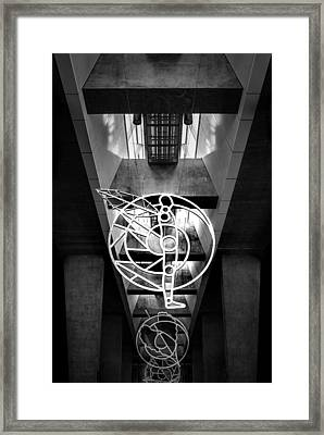 Man's Spheres Framed Print
